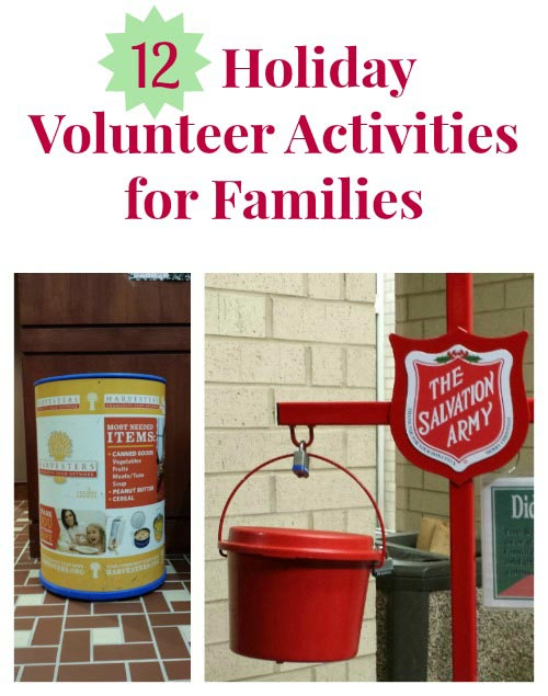 12 Volunteer Ideas for the Holidays
