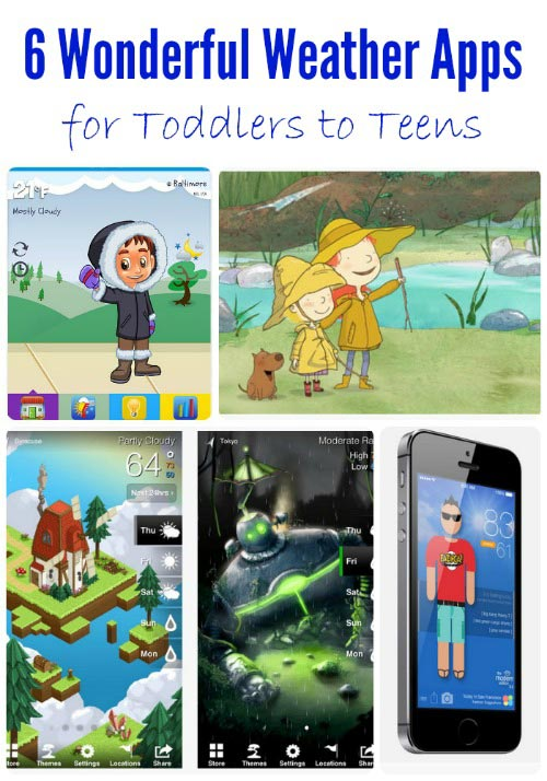 Weather apps for Kids
