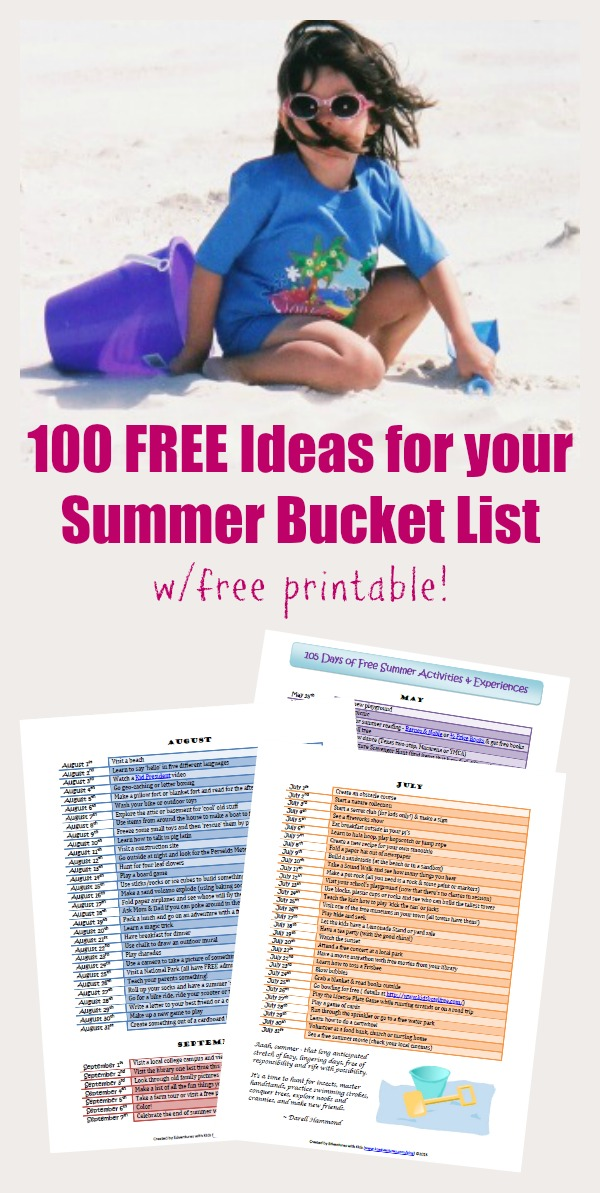 Free summer activities for kids and family near me