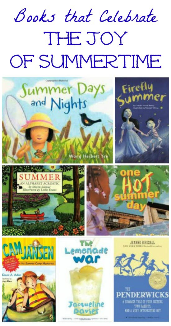 Favorite children's books about summer with activities to do with them!