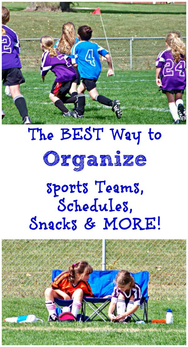 Organize Sports Teams & Kids' Activities