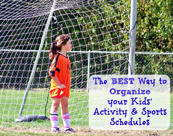 Best App to Organize Kids' Activities and Sports Teams