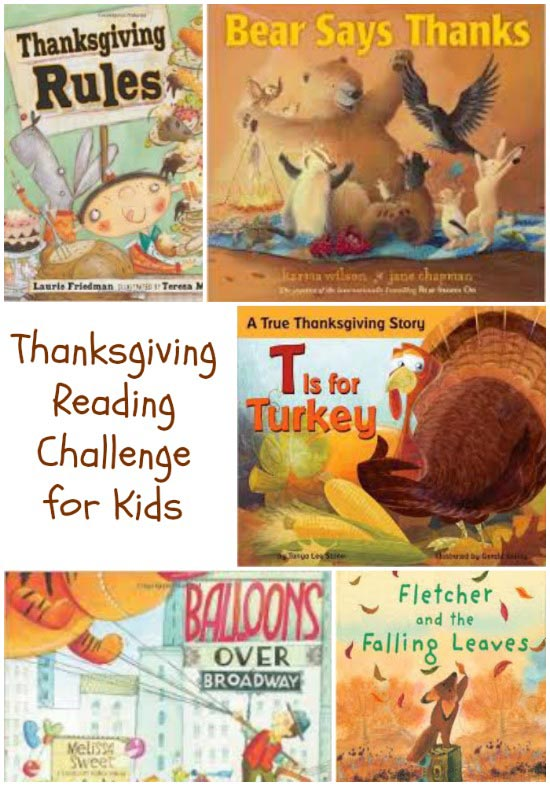 Thanksgiving Books for Kids with Free printable Reading ...