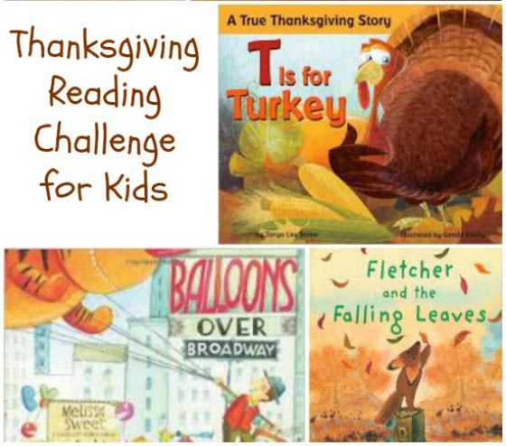 thanksgiving book challenge
