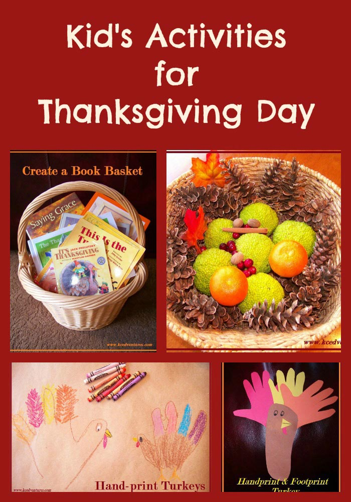 Thanksgiving Activites for Kids