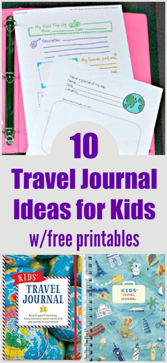 picture regarding Travel Journal Printable named 10 Generate Magazine Designs for Youngsters w/free of charge printables