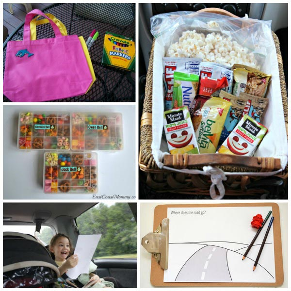 50 Road trip games, activities and snack ideas for kids