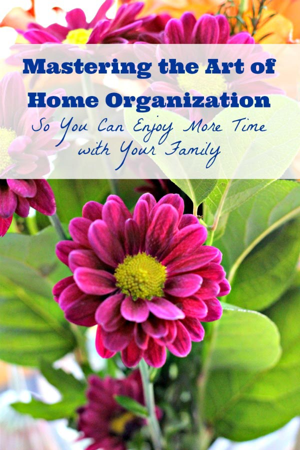 Ideas for getting organized