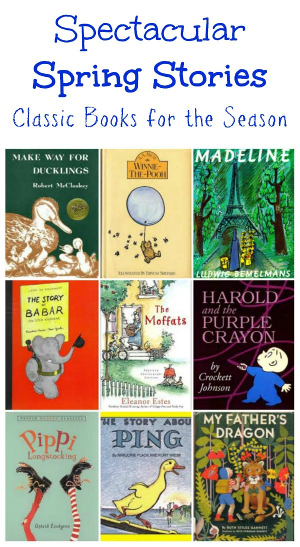 Classic Kids books - Spring stories from your childhood