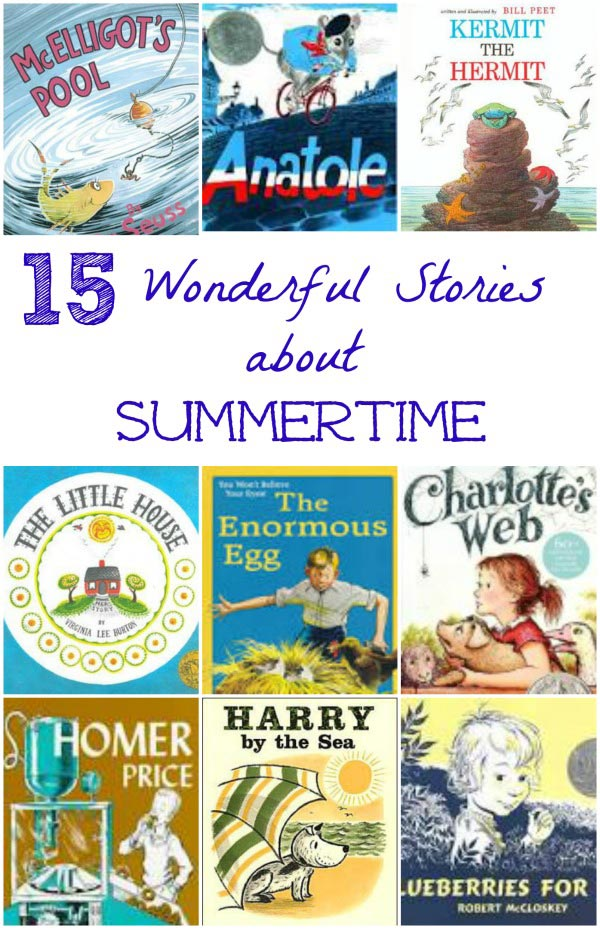 Classics for kids - wonderful vintage books about summer the kids will LOVE!