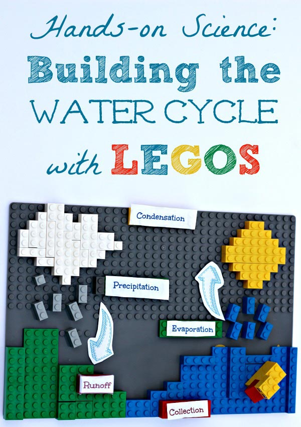Science activity: the water cycle project using LEGOS