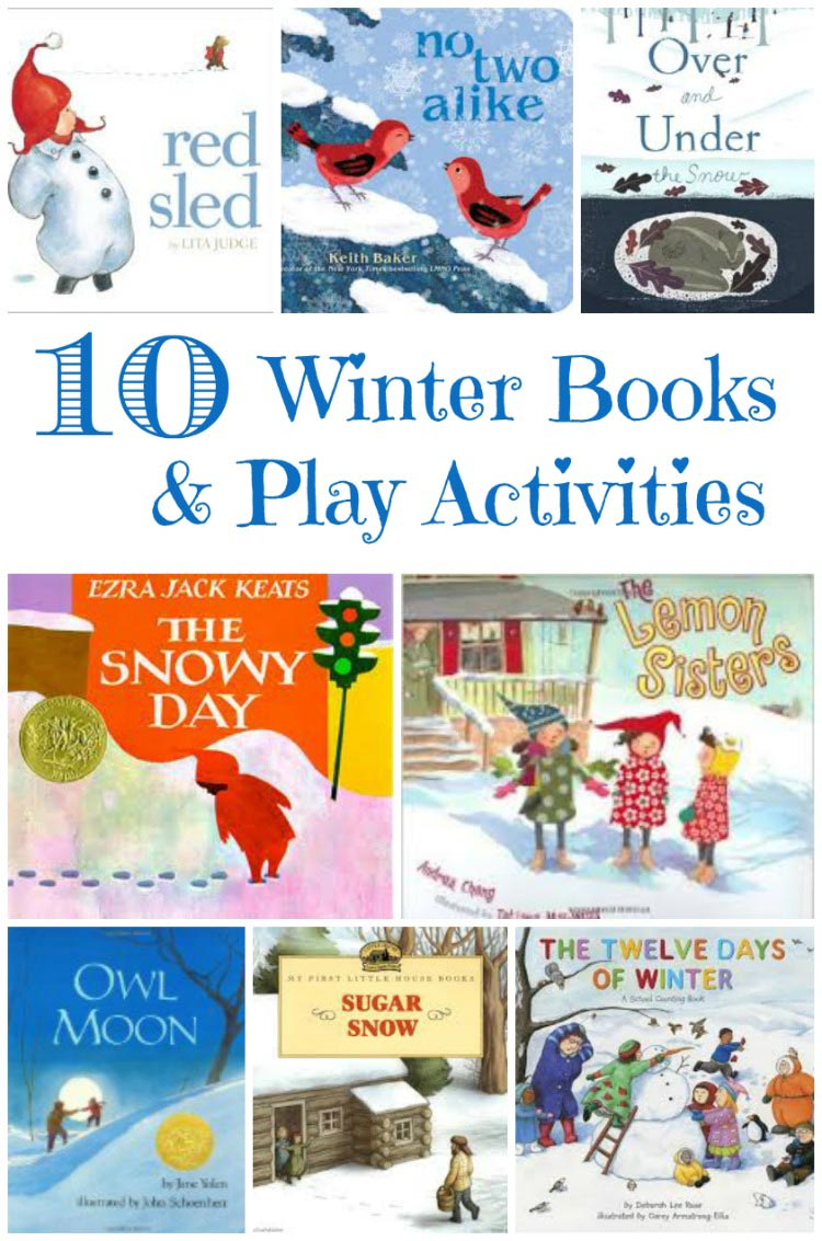 winter books and activities for kids