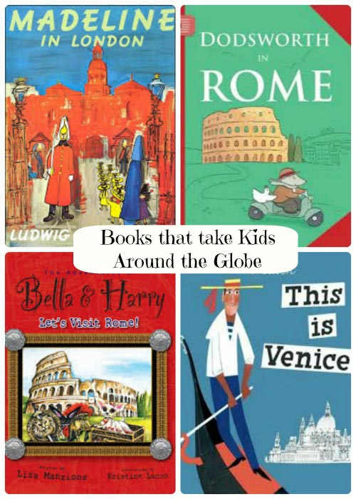 kids books about countries around the world