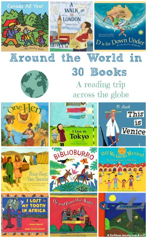 kids books about the world