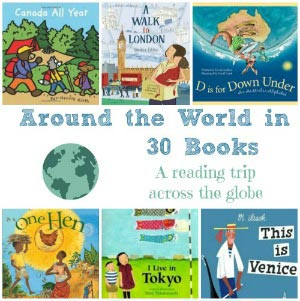 kids geography books and activities