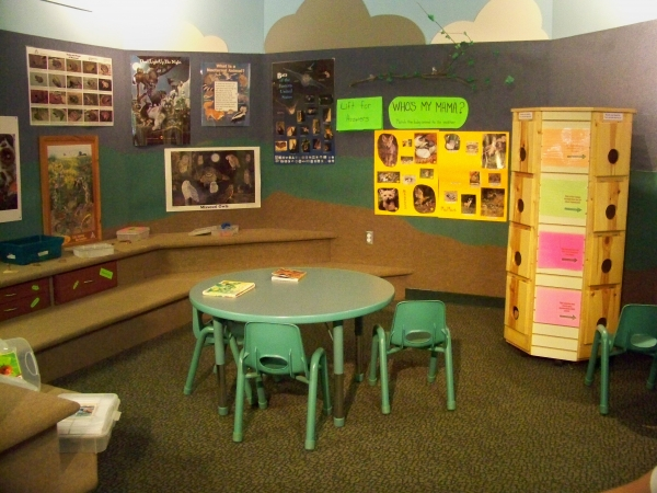 Kids Area at Burr Oak Nature Center